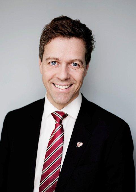 Motvind: KrF-leder Knut Arild Hareide møter motvind i Østfold.