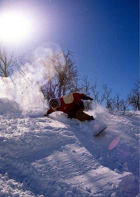 Rikeleg med snø: På Filefjell har også denne vinteren bydd på flotte snøtilhøve, blant anna for laussnøkjøring.