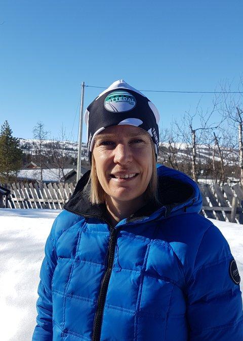 NY SKISKYTTERLEDER: Yvonne Cyrén er nyvalgt leder i Nittedal Skiskytterlag.