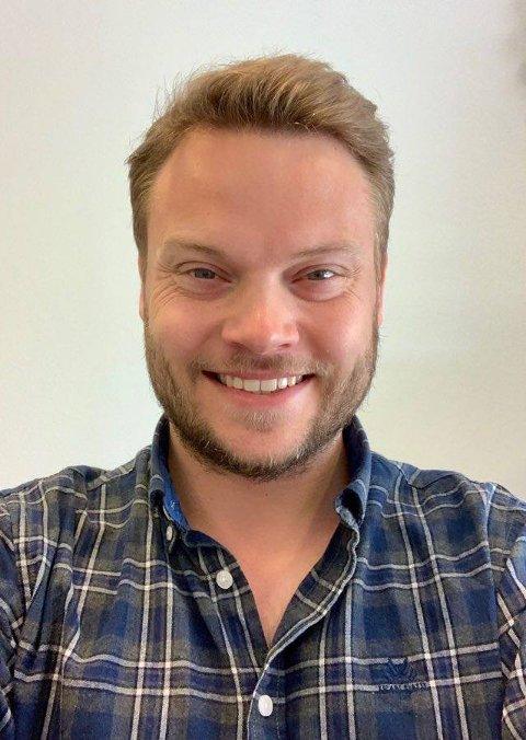 Ny assisterende rektor ved Nesoddtangen skole, Anders Ravn Nilsen.