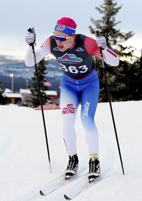 GOD START: Kasper Inderhaug fikk en god start på langrennssesongen. Det er junior-NM og norgescupen som er det store målet til han i vinter. Foto: Svein Halvor Moe