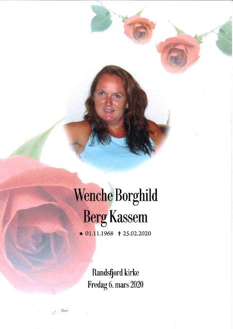 Wenche Borghild Berg Kassem