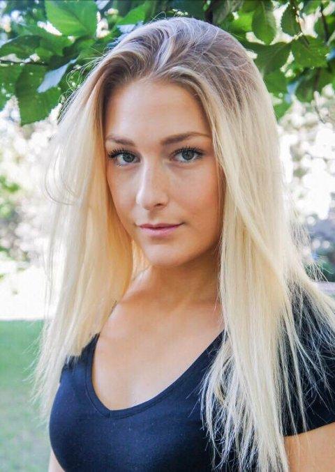 SATSER FULLT: Linn Therese Solem (19) vil bli skuespiller.