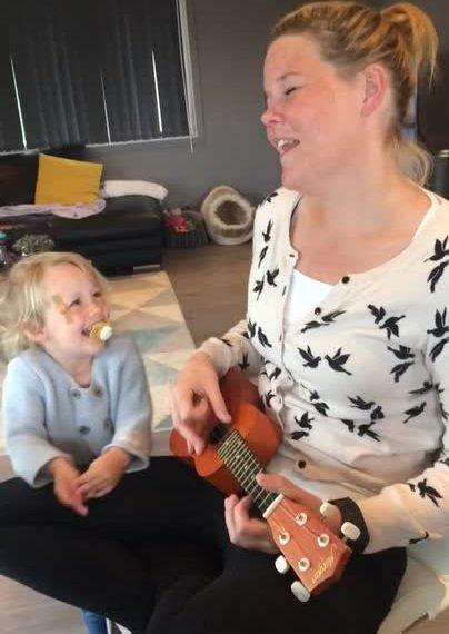 Anita Riksfjord Antonsen sang seg til festivalpass på Slottsfjell denne uka.