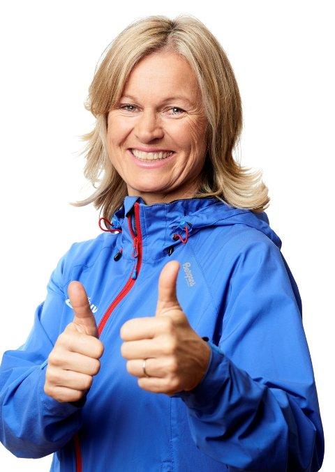 Juryleiar: Kristin Krohn Devold er juryleiar i gründerkonkurransen der allereie ti stykk har meldt seg på.