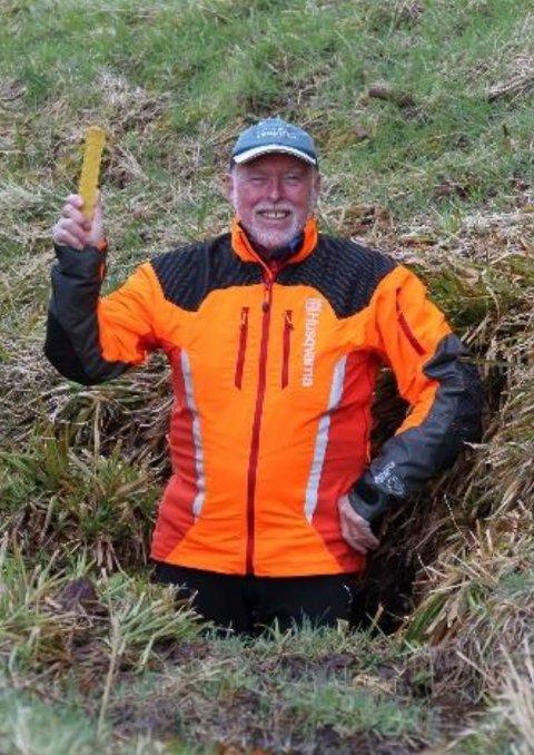 LANG RØYNSLE: Sivilingeniør Ragnar Hagen har lang røynsle med vegsaker i distriktet.