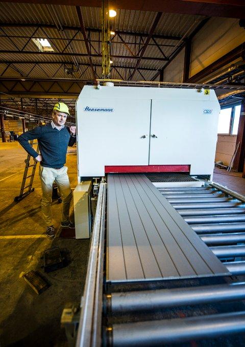 FLYTTET HJEM: Smartboard flyttet produksjonen hjem fra lavkostlandet Polen.