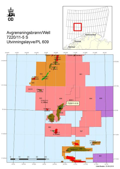 FANT OLJE OG GASS: Lundin har gjort funn i olje- og gassfeltet Alta i Barentshavet.