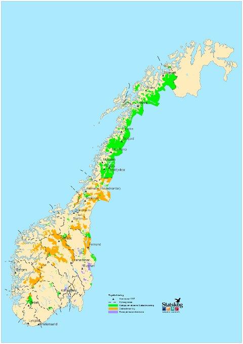 statskog kart Fremover   Fjelloven – og dumme nordlendinger? statskog kart
