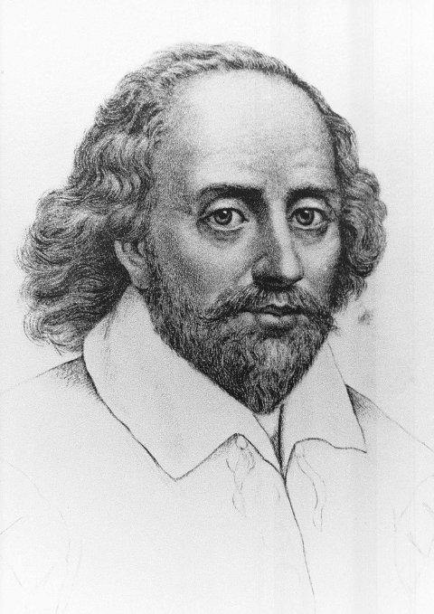AKTIV DTRAMATIKER: William Shakespeare ble født i 1564 og døde 23. april 1616. HAn er kjent for en rekke verk, blant annet «Kong Lear», «Macbeth» og «Stormen».