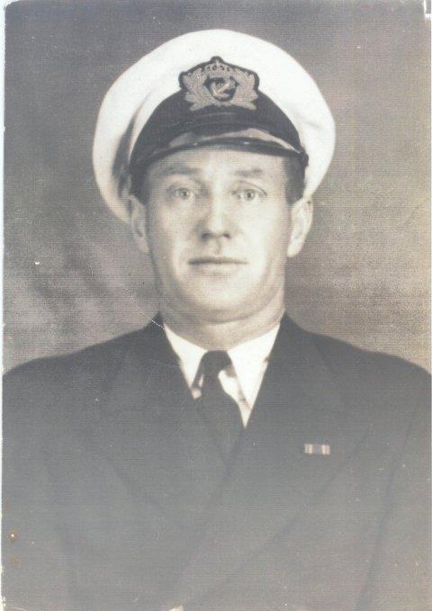 OVERLEVDE: 2. styrmann Johannes Strømme fra Haugesund.