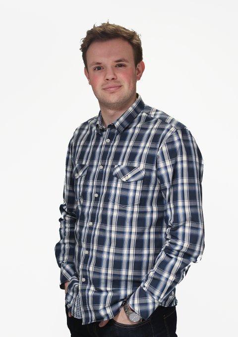 MÅRN DU: Journalist Eirik Løkkemoen Bjerklund.