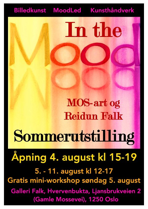 Plakat for arrangementet