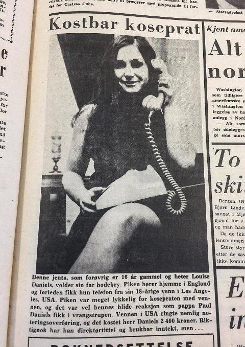 Oppland Arbeiderblads forside i februar 1967