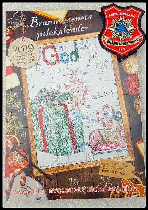 Brannvesenets julekalender inneholder adventstidens viktigste budskap.