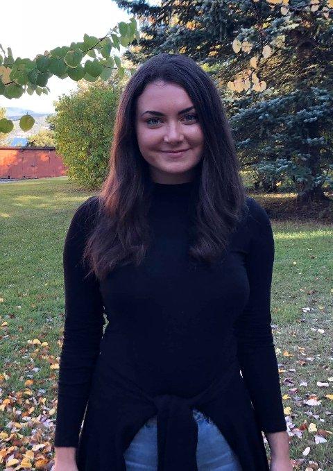 TYRIFJORD: President på Tyrifjord videregående Edda Keyn (17) synes årets russekull er en bra gjeng.