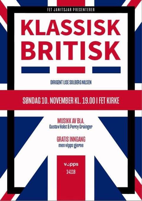 Klassisk Britisk - Plakat