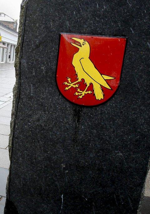 Symbolet: Mossekråka.   foto Geir Hansen