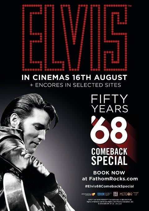 KULTKLASSIKER: I år er det 50 år siden Elvis Presley gjorde comeback på scena i det som ble en av de mest legendariske konsertopptakene noensinne. I august vises en oppfrisket versjon av klassikeren på Gjøvik kino.