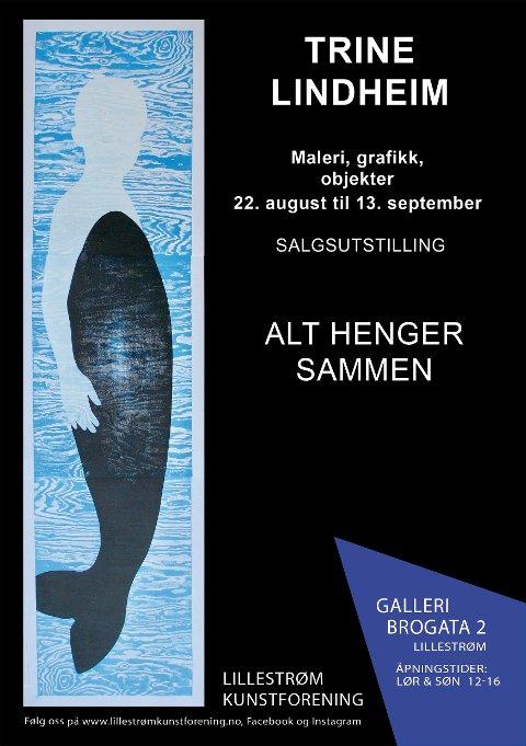 Velkommen til utstilling med Trine Lindheim i Galleri Brogata 2 i Lillestrøm.