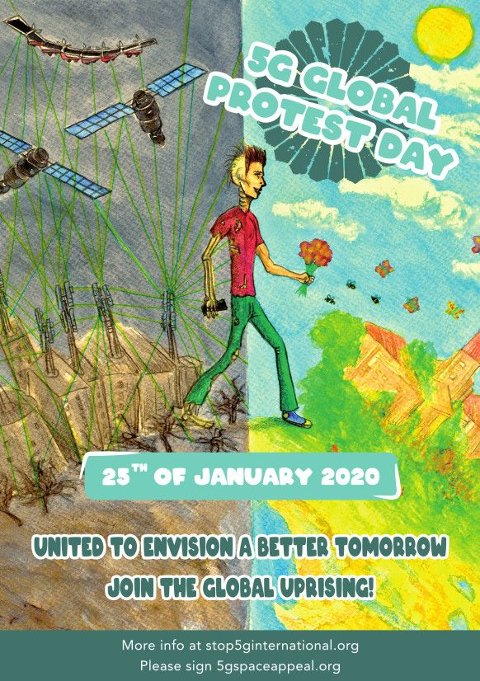 25. januar er protestdag mot utbygging av 5G. Ikke for sent å signere på protestoppropet, skriver Viggo Jordahl.