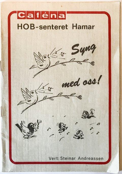 EN BUSSJÅFØR EN BUSSJÅFØR: HOB-senteret (Hamar og omland Bilruter) har gitt ut et eget sanghefte.