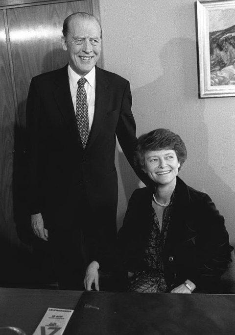Odvar Nordli overlot i 1981 statsministerposten til Gro Harlem Brundtland på grunn av sterke hodepineanfall. (Arkivfoto: NTB Pluss)