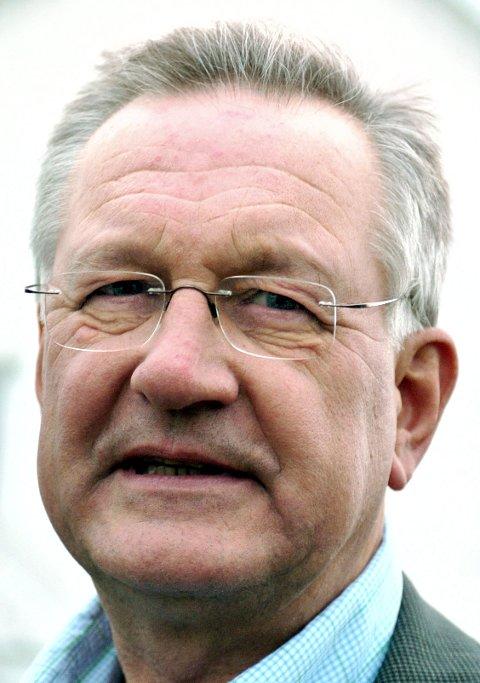 Talsmann. Carl Terje Strømberg er talsmann for de slagrammede i Fredrikstad.
