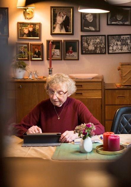 DATAKOMPIS: Hadeland seniornett starter opp et datakurs for eldre.