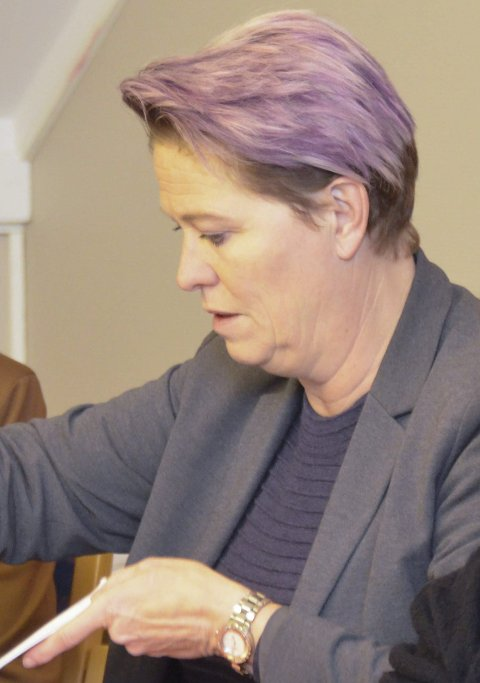 Flertallet: Sølvi Wreen Wirød (Ap) la fram budsjettforslaget fra flertallet.