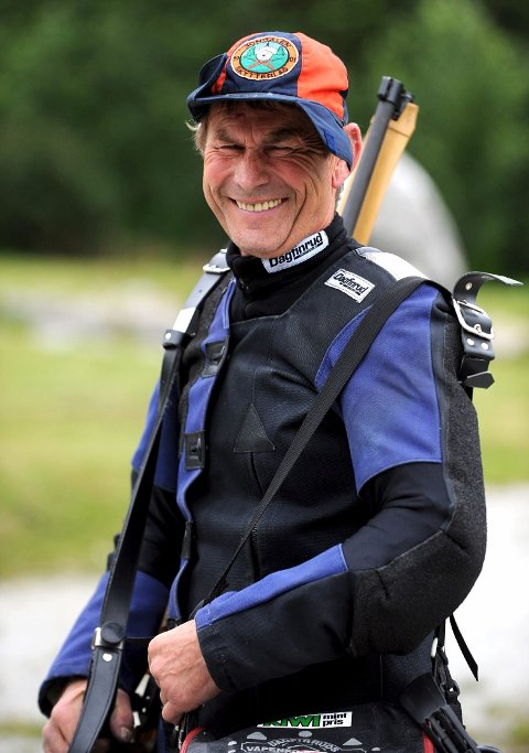VANT: Arne Mathisen, Jondalen, vant veteran 65-klassen med 5 x 350 poeng.