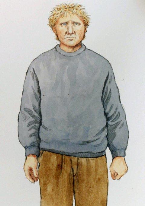 Synes det lignet: Horst syntes likheten mellom tiltalte og Lågendalsmannen var påfallende første gang han så den tiltalte.