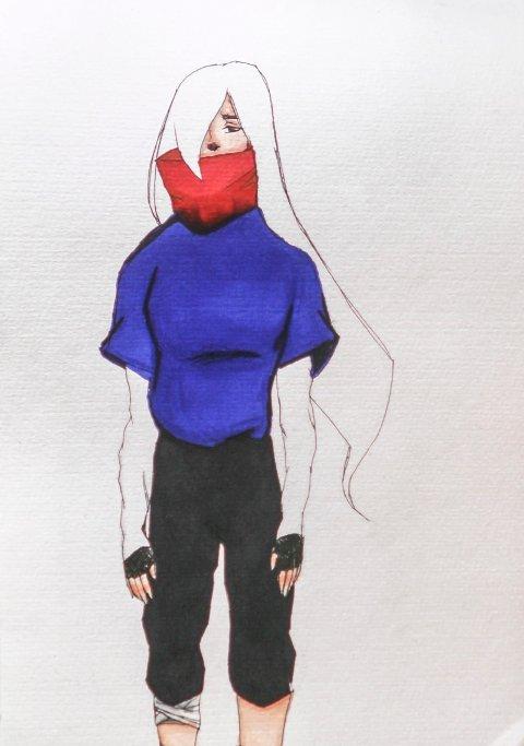 Tegning av Leah Tran.