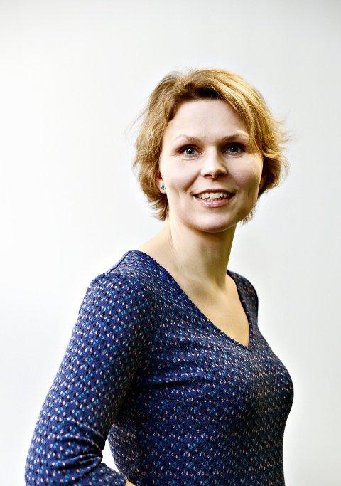 Astrid Sverresdotter Dypvik, journalist i Nationen til annonse i Klassekampen