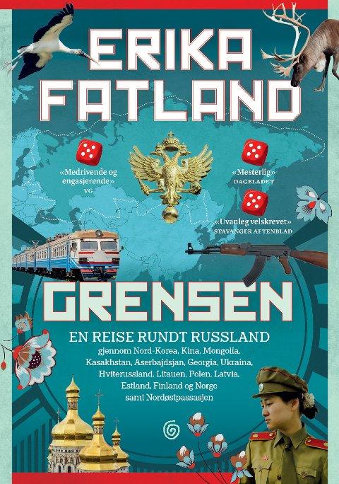 Erika Fatlands bok «Grensen» ble utgitt i 2017.