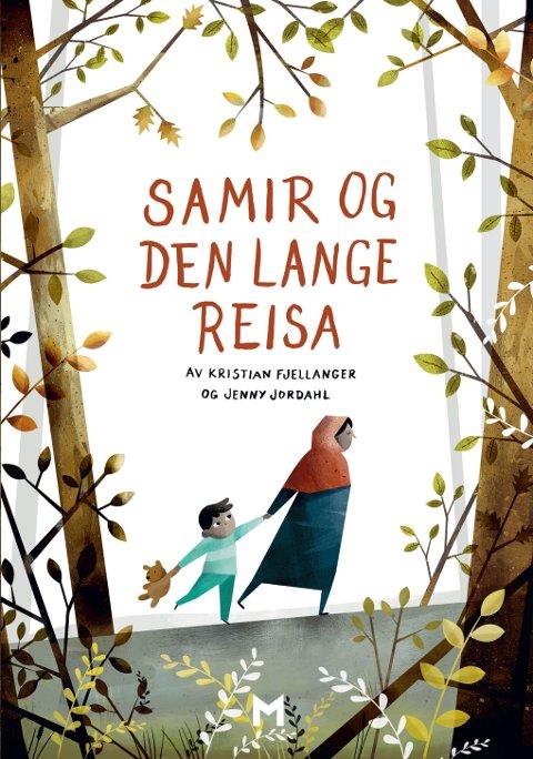 """SAMIR: """"Samir og den lange reisa"""" av Kristian Fjellanger og Jenny Jordahl. Foto: Forlaget Manifest  FOTO:  /"""