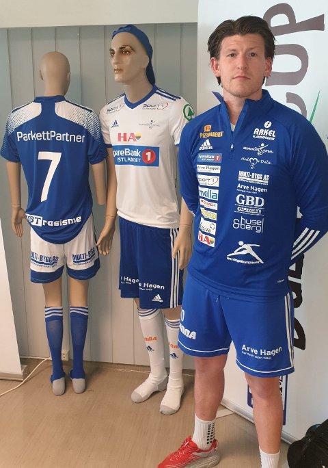 KLAR: Dette skriver Brumunddal Fotball på Facebook: «Anders «Ludde» Ludvigsen er klar. Rutinerte Ludde med 130 serie matcher for A-laget gleder seg til serie start mot LSK-2. Lykke til med sesongen.»