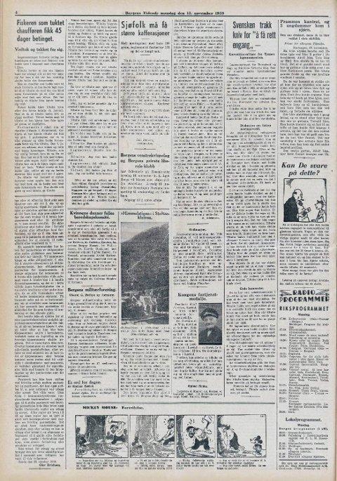 I en artikkel fra BT i 1939 vises en oversikt over hvor stien opp kleiven går. Da er det like før den er ferdigstilt.