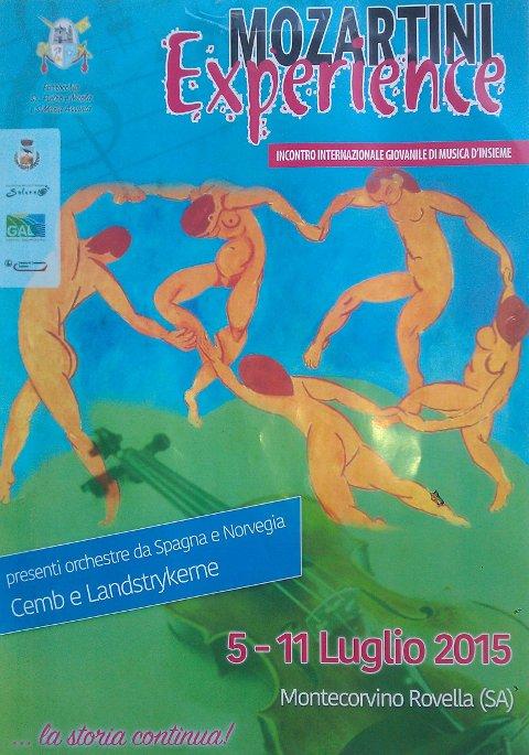 Internasjonal festival, Landstrykerne, Italia 2015.