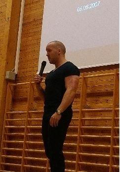 Simen Almås, foredragsholder