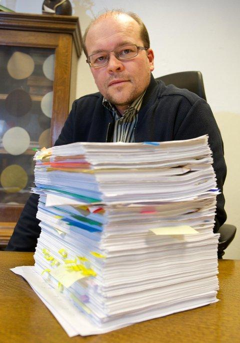 ADVOKAT: Advokat Tore Leiros har vært prosessfullmektig for tromsømannen (49) som saksøkte Protector Forsikring. Det endte med at forsikringselskapet må betale nesten to millioner kroner i erstatning til mannen.