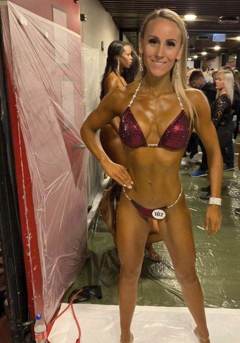 Ga ikke mersmak: Lena Fredriksberg fra Nes trengte et nytt mål å trene mot da en skade forhindret henne fra å satse skikkelig på sykkel. Dermed bestemte hun seg for å satse på Bikini Fitness og det endte med en 6. plass i NM forrige helg. En god plassering i debuten til tross, hun anser seg som er ferdig med denne karrieren nå.