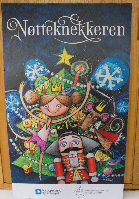 NØTTEKNEKKEREN:  Haugesund barne- og ungdomsteater setter opp 13 forestillinger i Festiviteten i november.