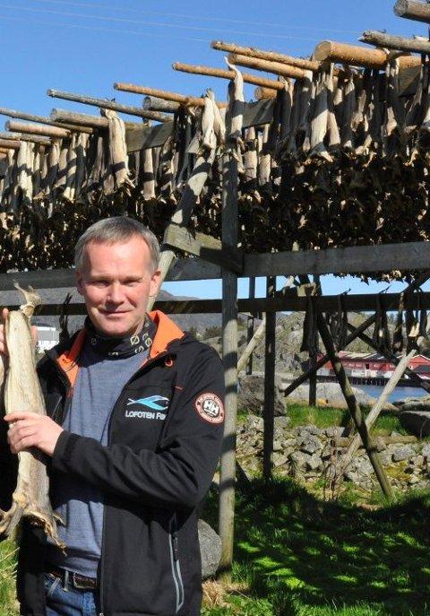 GODT ÅR: Rune Stokvold eier Lofoten Fisk AS, og 2019 ble et bra år for selskapet.