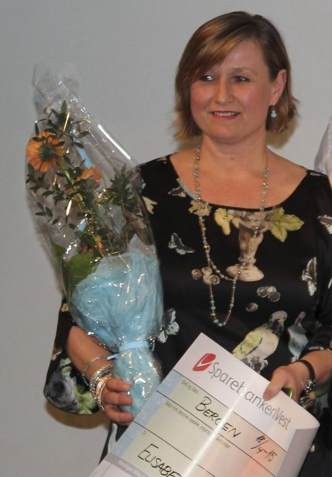 Heidra: Elisabeth Aase Aven fekk for to år sidan prisen som årets trenar på klubbkonferansen til Norges Handballforbund, region vest.