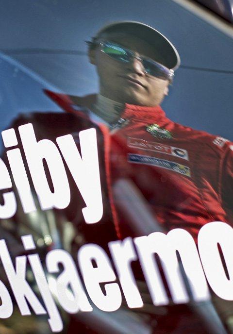 Skuffet: Ole-Christian Veiby var skuffet etter helgens Rally Korsika.FOTO: EVEN MANAGEMENT