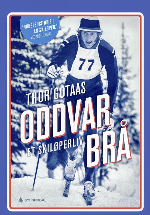 Bok om skilegenda: Omslaget på boka til Thor Gotaas. Foto: Gyldendal