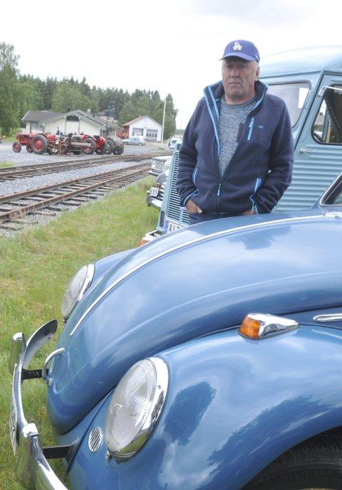 SANS FOR GAMMELT: Jan Dahlen stilte på den blå Bobla.