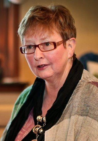 Inger Marit Sverresen, sentralstyremedlem i Partiet De Kristne og lokallagsleder for Sarpsborg. (Foto: Thomas Andersen)