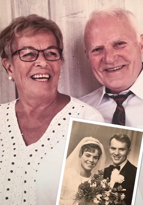 Gullbryllup: Vera og Øyvind Borgen. 25. november 1967 ga dere hverandre deres «ja» i Svelvik kirke.